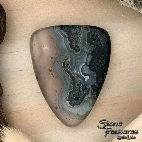 Cady Mountains Moss Agate - Stone Treasures by the Lake