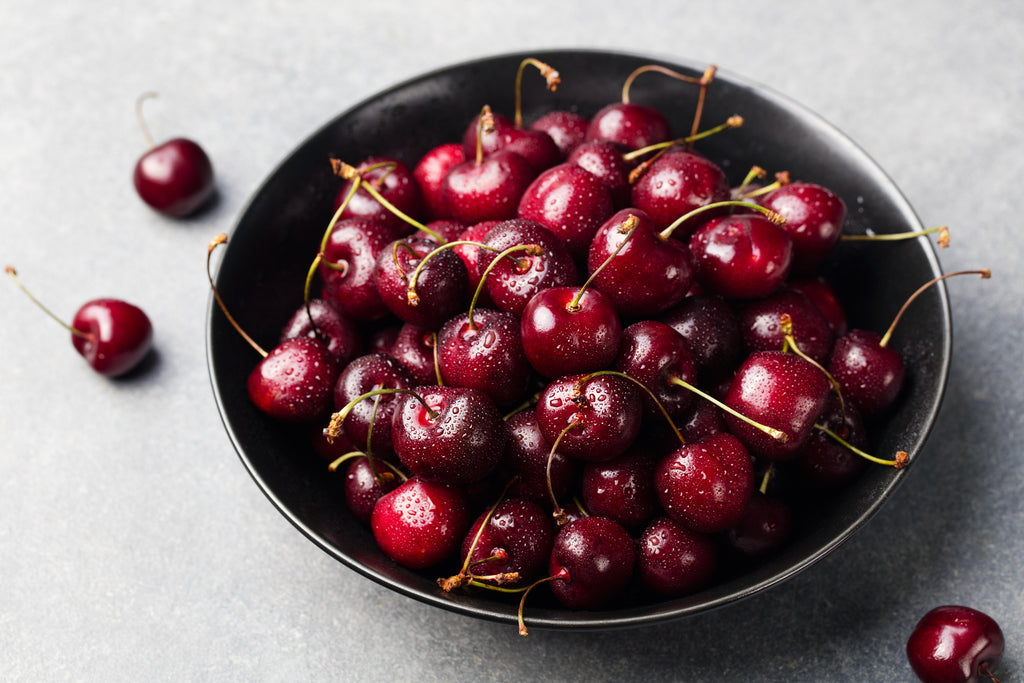 Cherries are one of the few natural foods containing melatonin