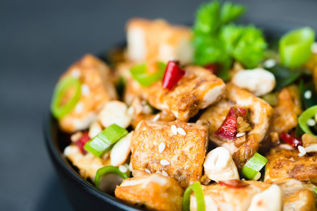 You should eat soy based foods like Tofu before you go to bed