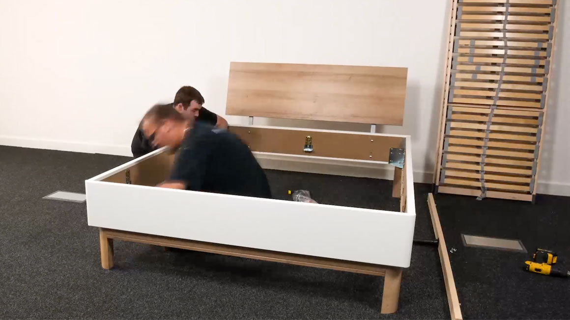 Bed Frame Install