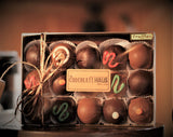 Gold Gift Boxes - Assorted Chocolates or Assorted Truffles