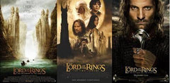 Lord of the Rings deluxe action figures and boxsets