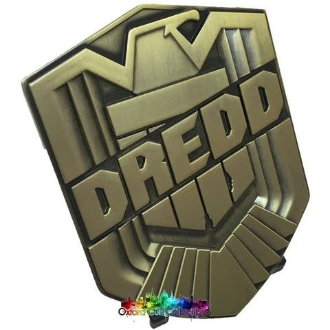 2000Ad Judge Dredd Prop Replica Metal Badge