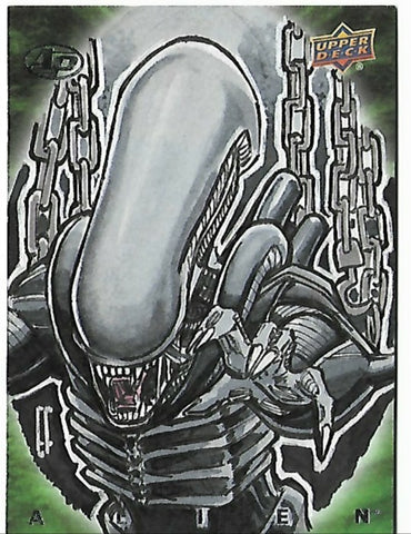 Alien artist PROOF sketch card by Eric Fournier