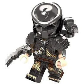 Building Blocks 'Predator' minifigure