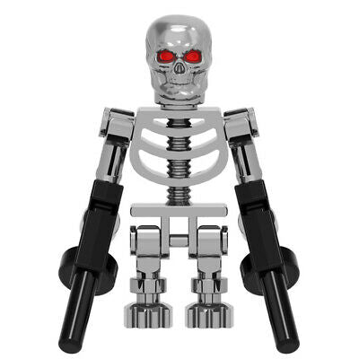 Building Blocks 'Terminator Endoskeleton' minifigure