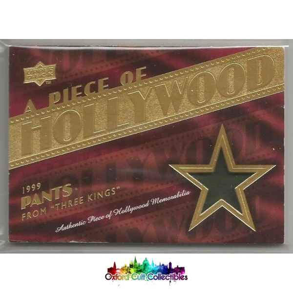 A Piece Of Hollywood George Clooneys Pants Costume Card