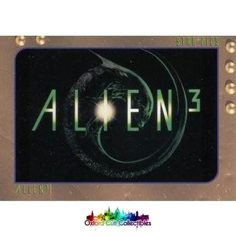 Alien 3 Trading Card Set