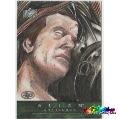 Alien Anthology Artist Proof Sketch Card By Darwin Alcazar