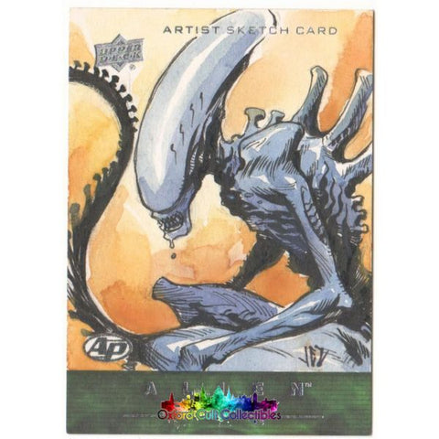 Alien Anthology Artist Proof Sketch Card By Jezreel Jez Rojales