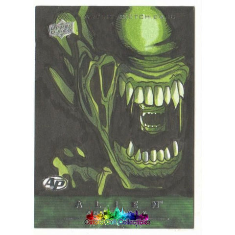 Alien Anthology Artist Proof Sketch Card By Rich Molinelli