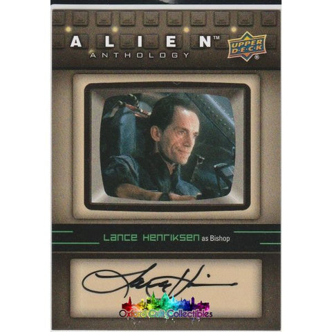 Alien Anthology Bishop Authentic Autograph Card