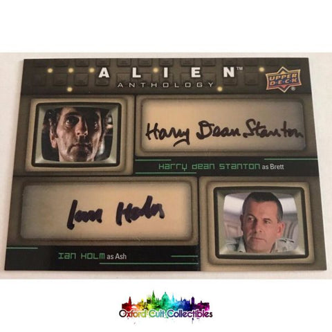 Alien Anthology Brett & Ash Authentic Dual Autograph Card