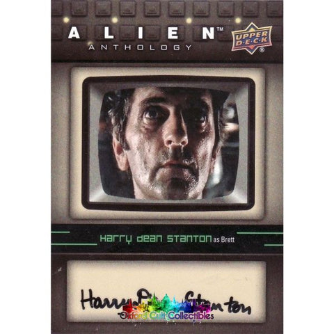 Alien Anthology Brett Authentic Autograph Card