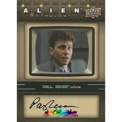 Alien Anthology Burke Authentic Autograph Card