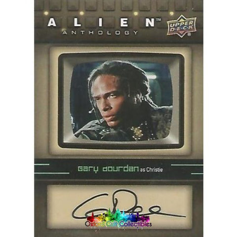 Alien Anthology Christie Authentic Autograph Card