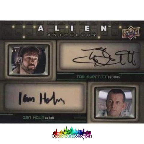 Alien Anthology Dallas & Ash Authentic Dual Autograph Card