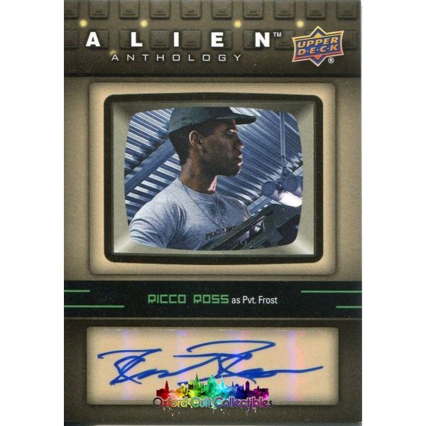 Alien Anthology Frost Authentic Autograph Card