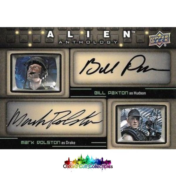 Alien Anthology Hudson & Drake Authentic Dual Autograph Card