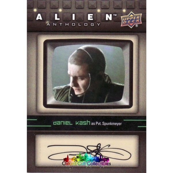 Alien Anthology Spunkmeyer Authentic Autograph Card