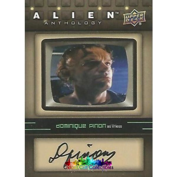 Alien Anthology Vriess Authentic Autograph Card