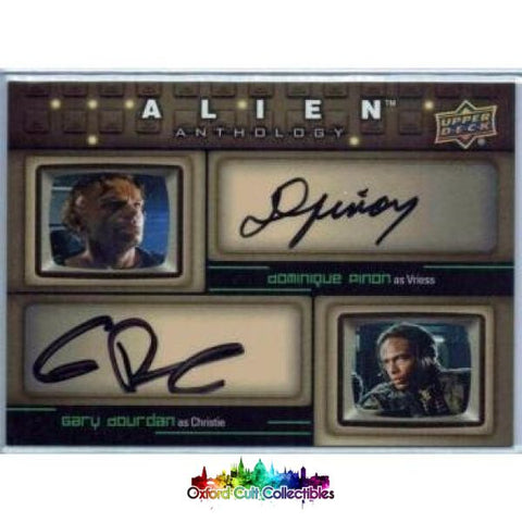 Alien Anthology Vriess & Christie Authentic Dual Autograph Card