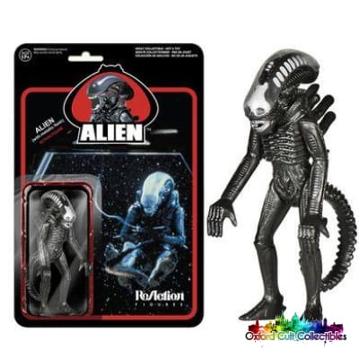 Alien Metallic Flesh Action Figure