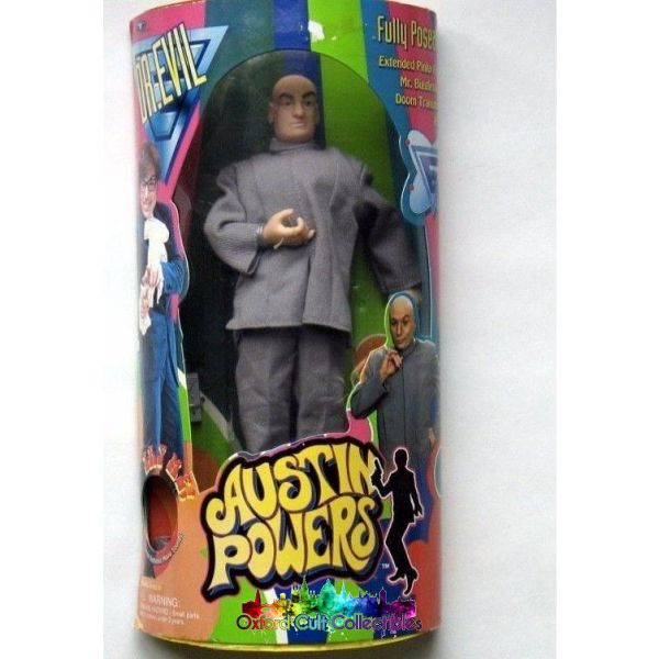 Austin Powers Dr Evil With Mini-Me Action Figure Set