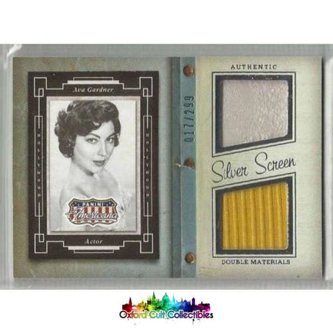 Ava Gardner Costume Card
