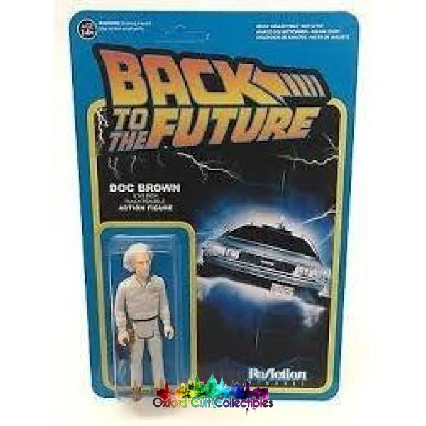 Back To The Future Doc Brown Action Figure