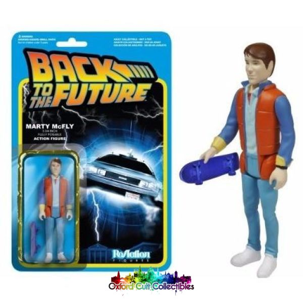 Back To The Future Marty Mcfly Action Figure