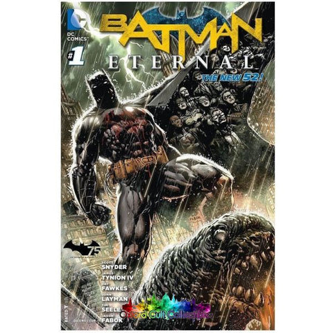 Batman Eternal #1-52 Dc Comics