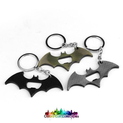 Batman Metal Bottle Opener Keyring
