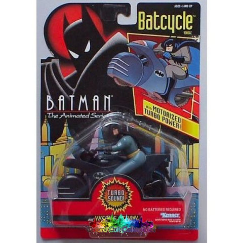 Batman The Animated Series On Motorbike