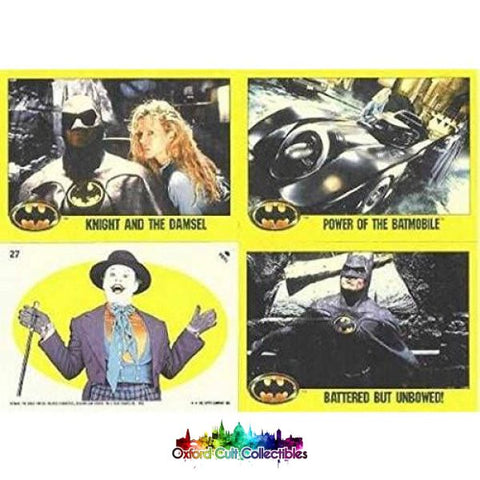 Batman The Movie Trading Card Set Series 2