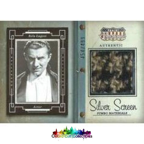 Bela Lugosi Costume Card