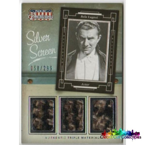 Bela Lugosi Triple Costume Card