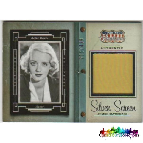 Bette Davis Costume Card