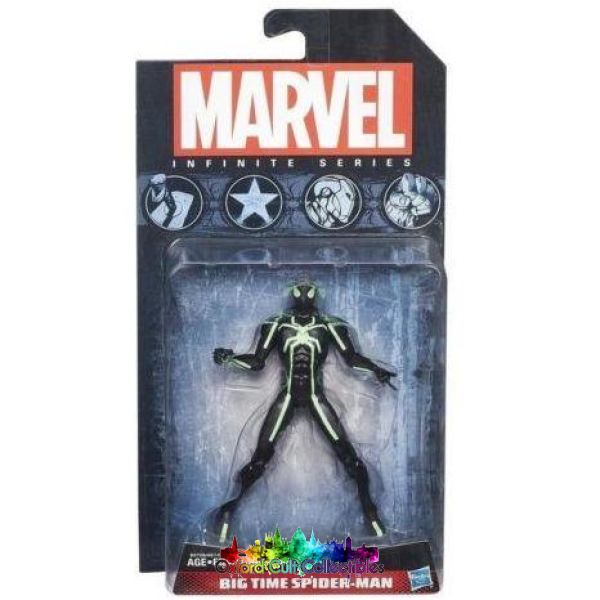 Big Time Spider-Man Infinite Series Poseable Action Figure