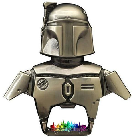 Boba Fett Metal Keyring Bottle Opener