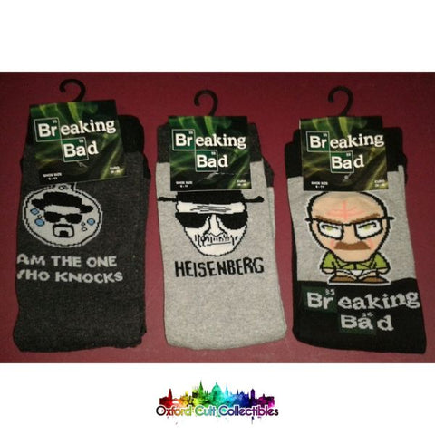 Breaking Bad 3 Set Of Socks Gift Pack
