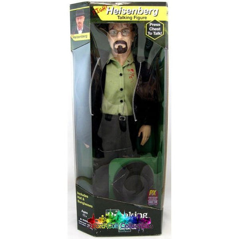 Breaking Bad Fight Heisenberg Sdcc Exclusive Talking 17 Figure