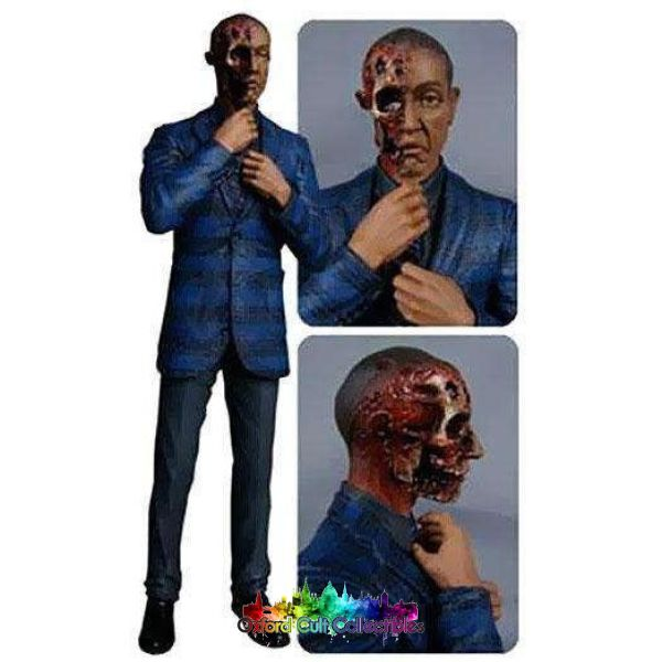 Breaking Bad Gustavo Fring Face Off Cult Collectible Action Figure