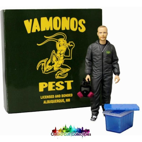 Breaking Bad Jesse Pinkman Vamonos Pest Cult Collectible Action Figure