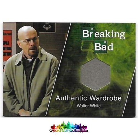 Breaking Bad Walter White Authentic Costume Card