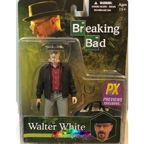 Breaking Bad Walter White Cult Collectible Action Figure (Previews Exclusive Variant)