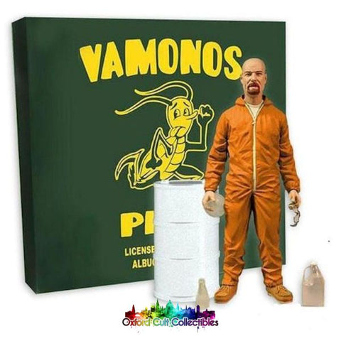 Breaking Bad Walter White Vamonos Pest Cult Collectible Action Figure