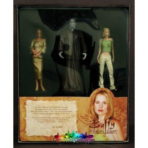 Buffy The Vampire Slayer Book Of Vengeance Limited Edition Action Figure Set