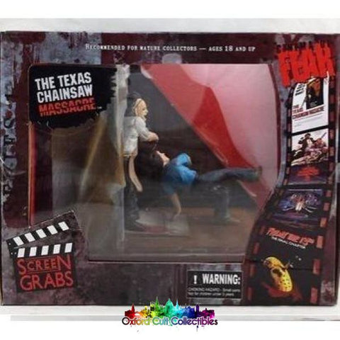 Cinema Of Fear The Texas Chainsaw Massacre Leatherface Figure Diorama (Screen Grabs)