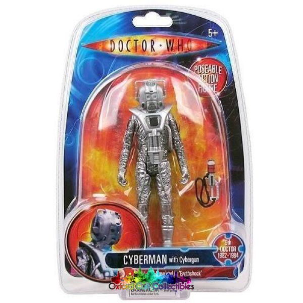 Classic Doctor Who Earthshock Cyberman Action Figure